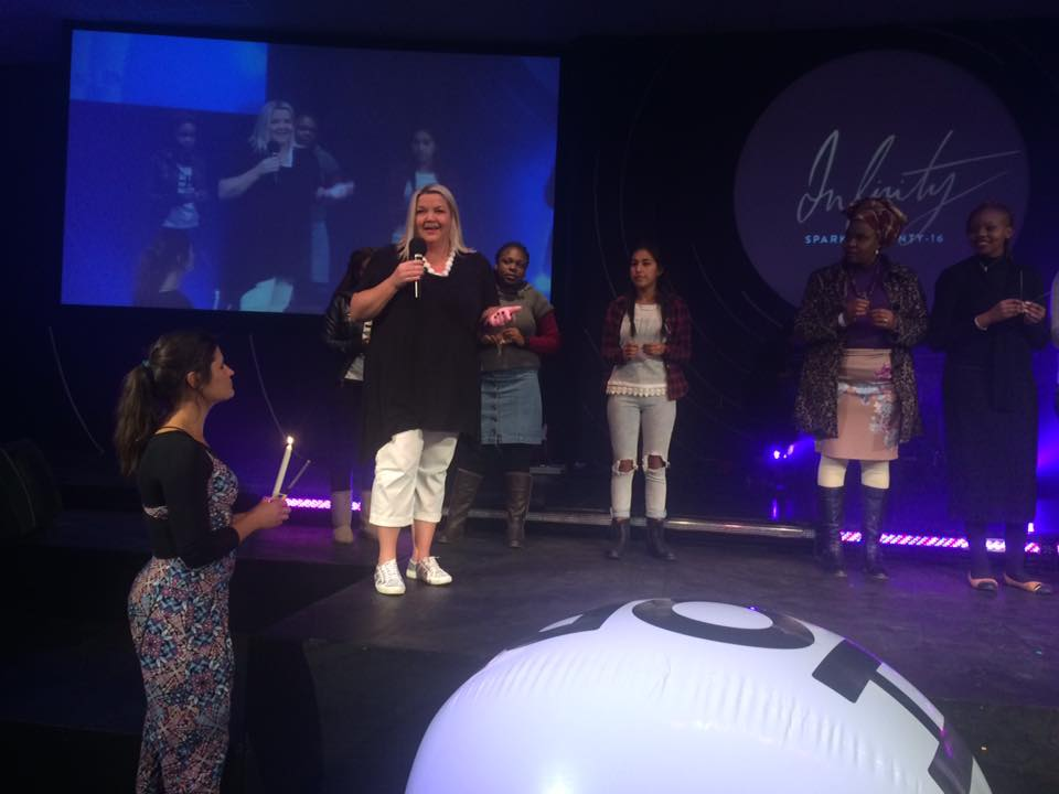 Guest Speaker and MC at the Infinity Ladies Conference in Pietermaritzburg