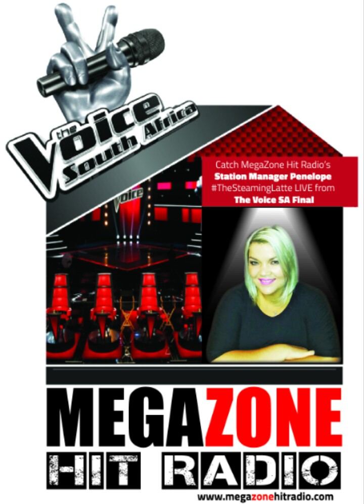 Reporting live from the first Voice South Africa