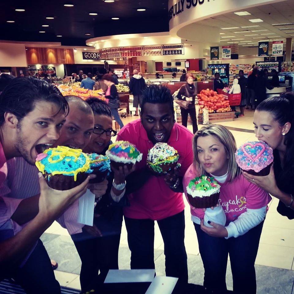 Celebrity appearance in support of Cupcakes For Kids With Cancer