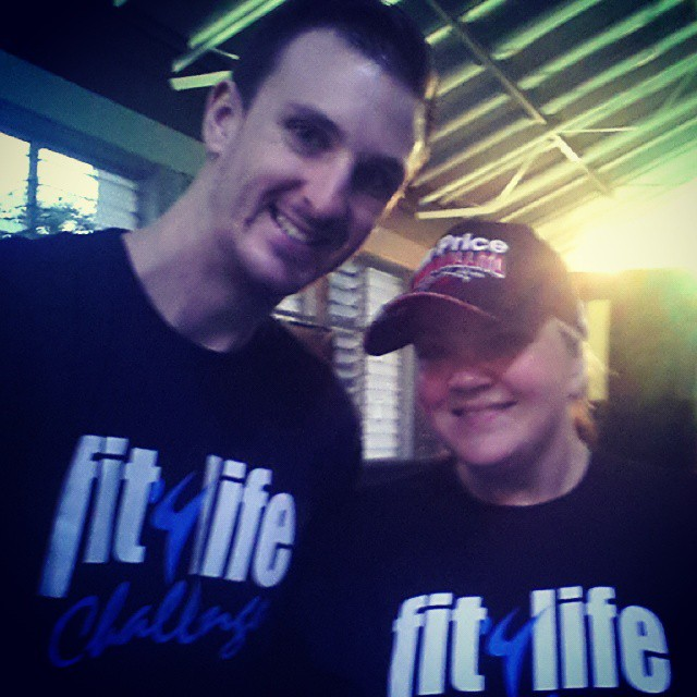 "Ambassador for wellness program ""Fit4Life"""
