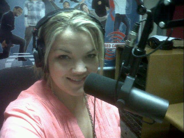 In the training recording studio