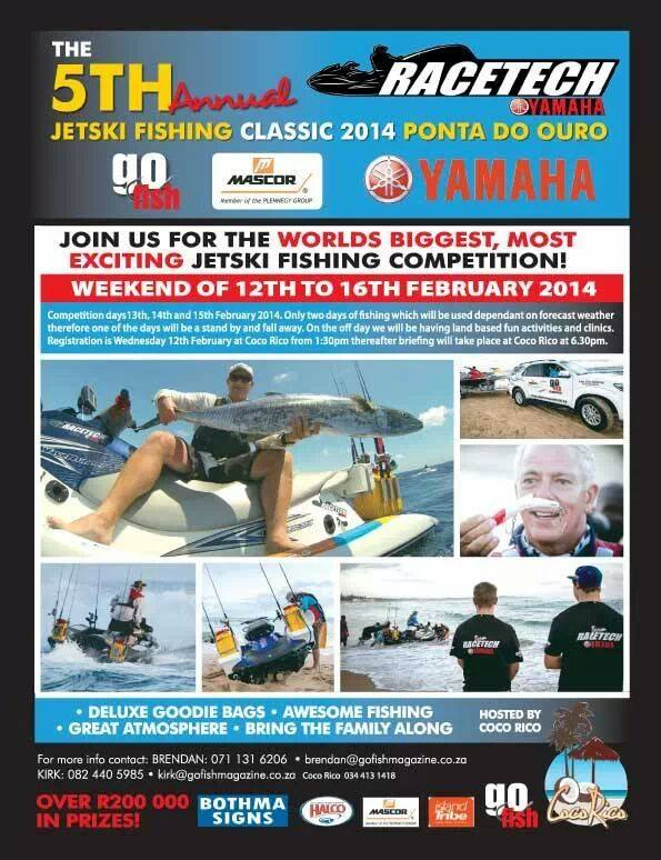 Competed in the Yamaha Jetski Fishing Classic in Ponta Douro