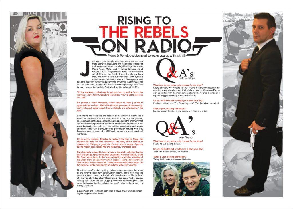 Magazine article for an Umhlanga publication