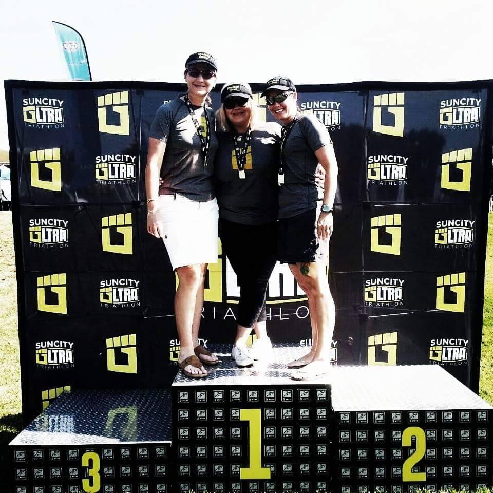 Gold Medal at the Sun City Triathlon