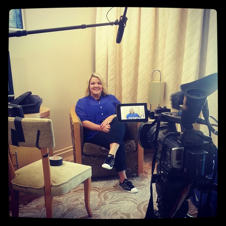 Filming at Suncoast Casino